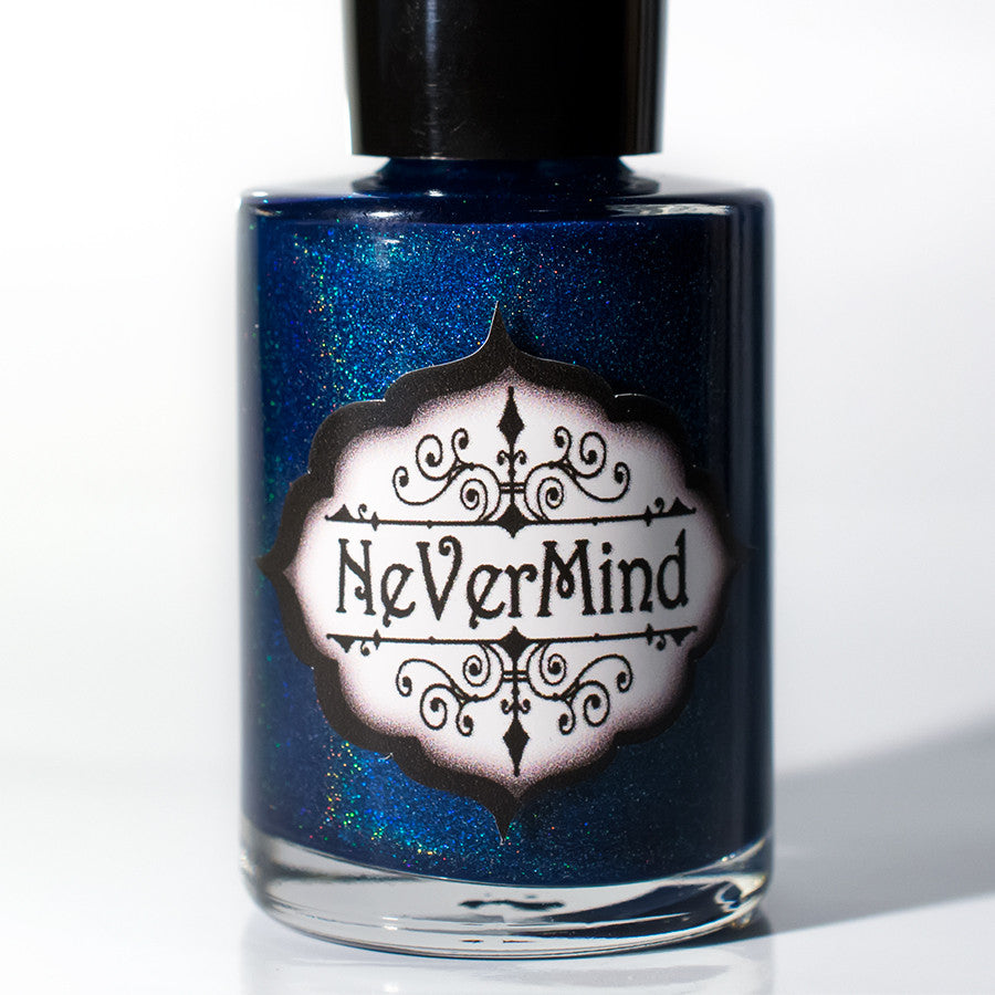 Pluviophilia - NeVerMind Polish Nail Polish - Holographic Glitter  Crelly  Jelly Gift