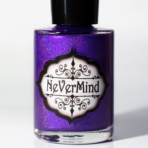 Somnophilia - NeVerMind Polish Nail Polish - Holographic Glitter  Crelly  Jelly Gift