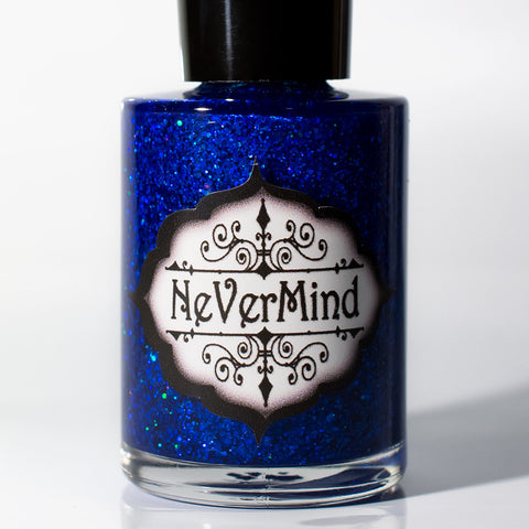 Tanzanite - NeVerMind Polish Nail Polish - Holographic Glitter  Crelly  Jelly Gift