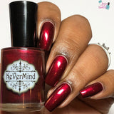 Savage Romance - NeVerMind Polish Nail Polish - Holographic Glitter  Crelly  Jelly Gift