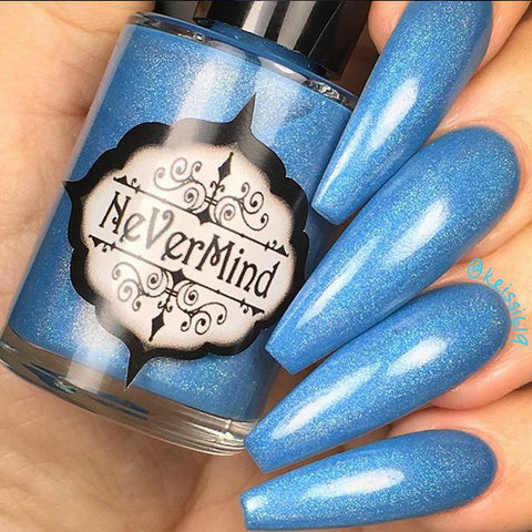 Frozen Moon - NeVerMind Polish Nail Polish - Holographic Glitter  Crelly  Jelly Gift