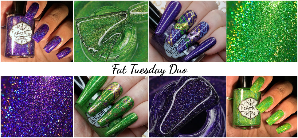 nevermind polish fat tuesday collection