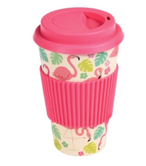 Bild in Slideshow öffnen, Coffee To Go, aus Bambusfaser rosa