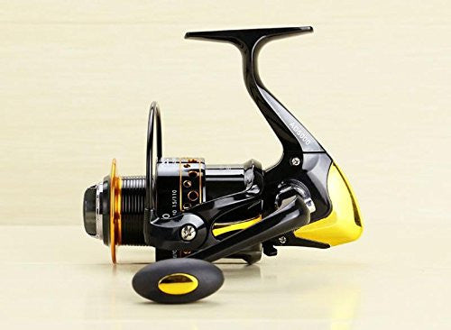 RAH AD4000 Series 12+1 Ball Bearing Spinning Reel | 5.2:1 Gear Ratio. - RAH Tackle™