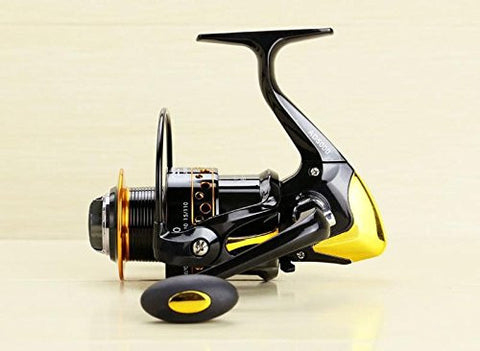 RAH AD4000 Series 12+1 Ball Bearing Spinning Reel with 5.2:1 Gear Ratio & Interchangeable Handle - RAH Tackle™