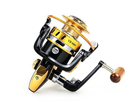 RAH YB4000 Spinning Reel | 12BB Ball Bearing | 5.5:1 Gear Ratio - RAH Tackle™