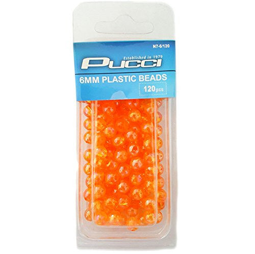 Fishing Beads - Multiple Colors & Sizes - 60-140 Beads Per Pack
