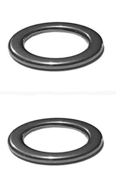 "RAH Stainless Steel ""Unbreakable"" Solid Rings For Fishing - (10 & 25 packs) - RAH Tackle™"