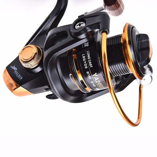 RAH YA3000 Series Spinning Reel | 12+1BB Ball Bearings | 5.5:1 Gear Ratio - RAH Tackle™