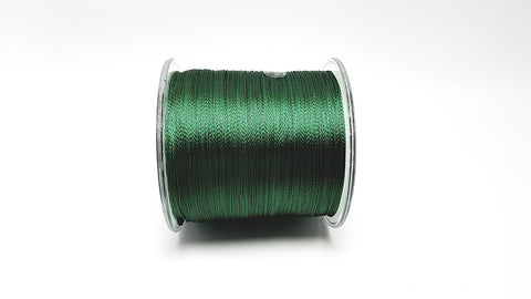 100% PE Braided Fishing Line - 10-60 lb Test / 547 Yards - Green Braid