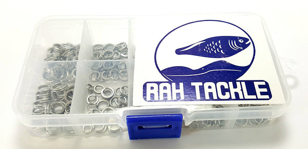 RAH Fishing 150 Pack Double Split Rings High Strength Stainless Steel - RAH Tackle™