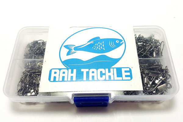 RAH Copper & Stainless Steel Rolling Swivels w/ Interlock Snap - 300 pcs - RAH Tackle™