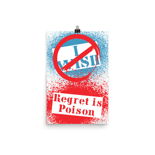 Regret Is Poison. Poster
