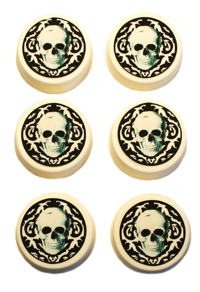Halloween Oreos® Damask Skull Edible Image Gift Box