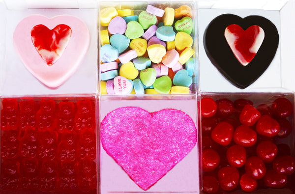 Heart Candy and Cookie Sampler
