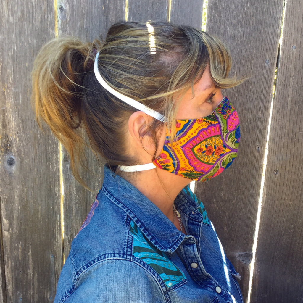Neighborhood ~ Adult Sizes M & L Mask w/ Filter Pocket