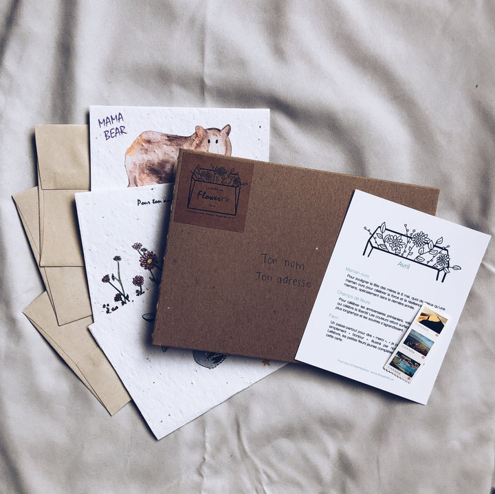 Flowerink's Box - Monthly Subscription