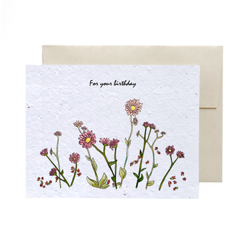 Field of Flowers | Card