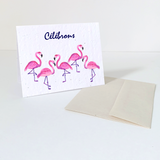 Flamingos | Card