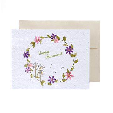 Spring Wreath | Card