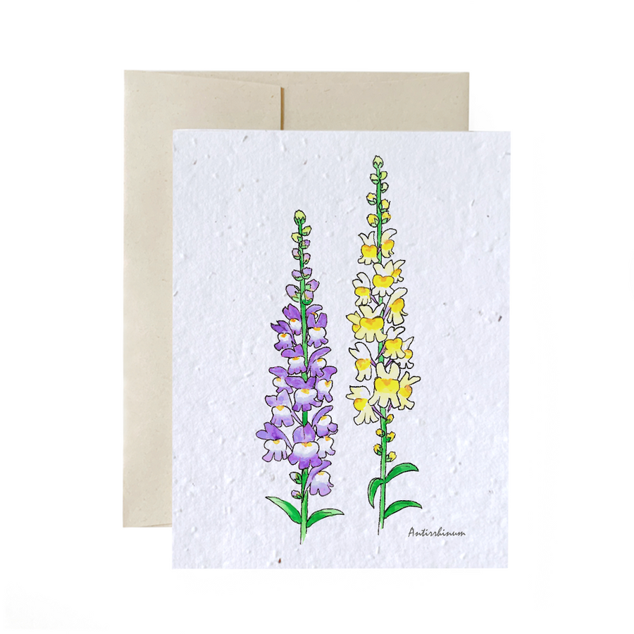 Wild flowers Trio | Card