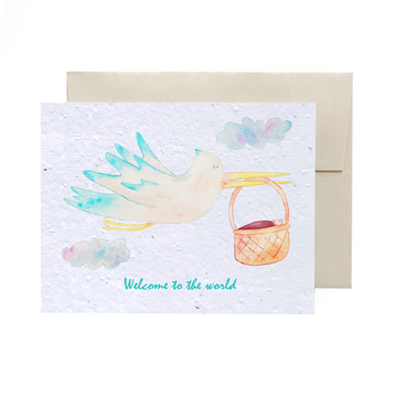 Welcome baby | Card