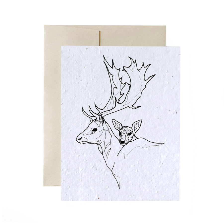 Deer Dad | Card