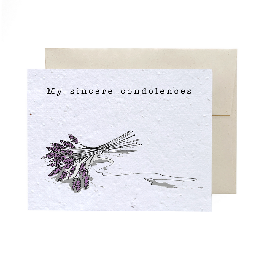 Sad Lilacs | Card