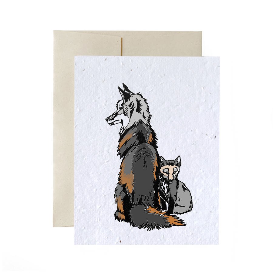 Foxes | Card