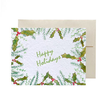 Holiday Greenery | Card