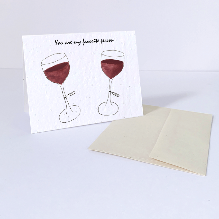 Favorite Wine | Card