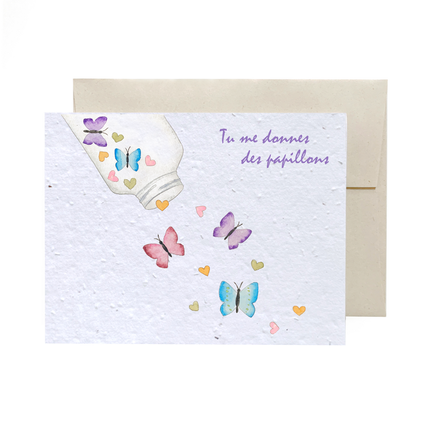 Butterflies | Card