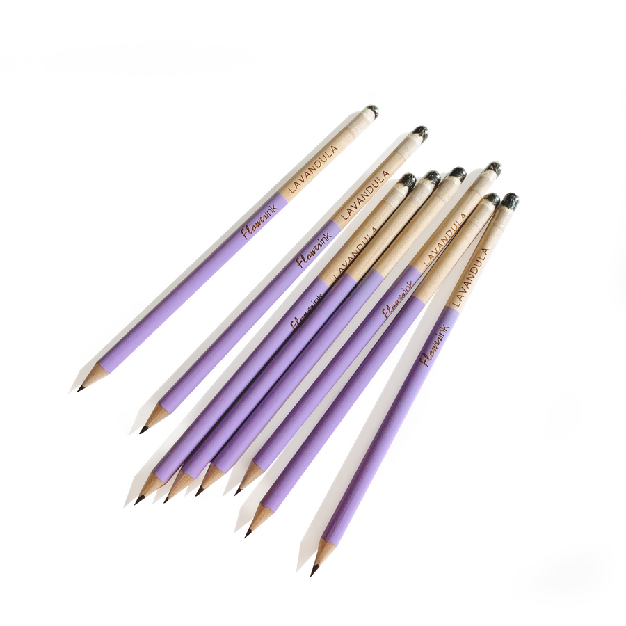 Lavender | Pencils (set of 8)
