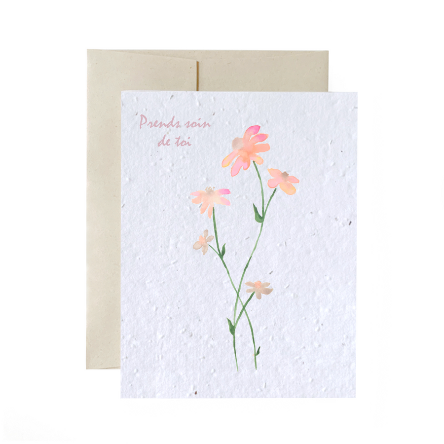 Delicate Flower | Card