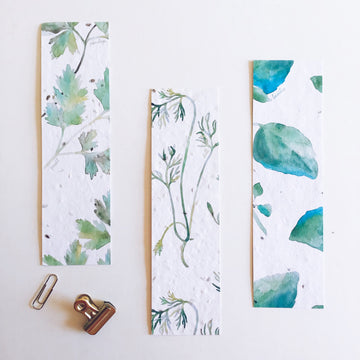 Herbs Trio | Bookmark
