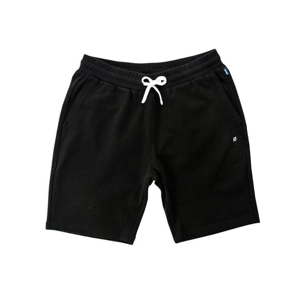 Lincoln Sweatshorts, Obsidian Black - days off