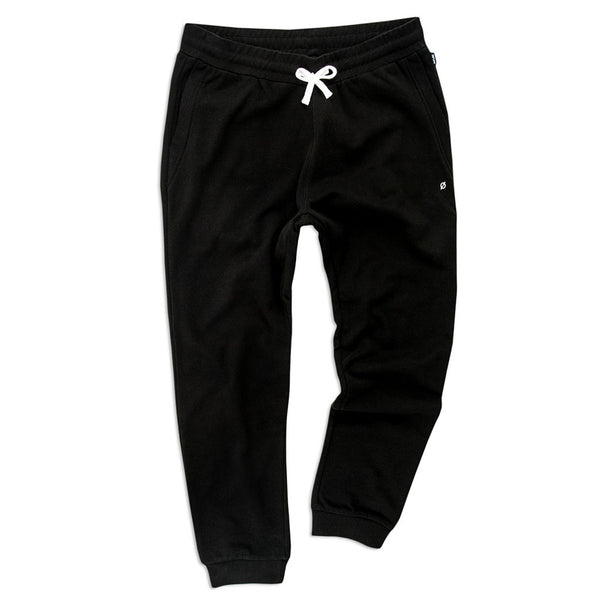 Manchester Sweatpants, Obsidian Black - days off