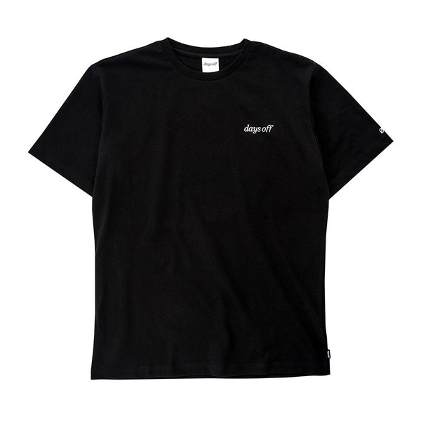Norwood T-Shirt, Obsidian Black - days off