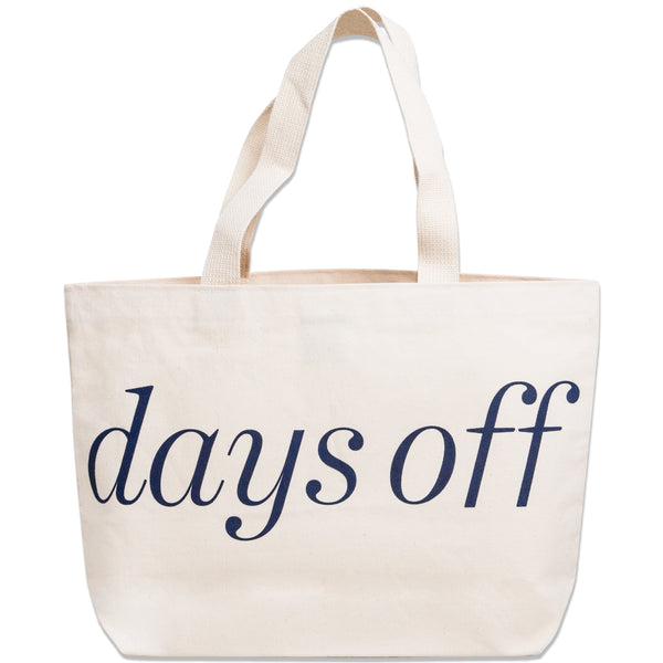 Bruiser Tote Bag - days off