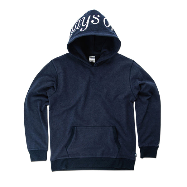 Brooks Pullover Hoodie, Essex Blue - days off