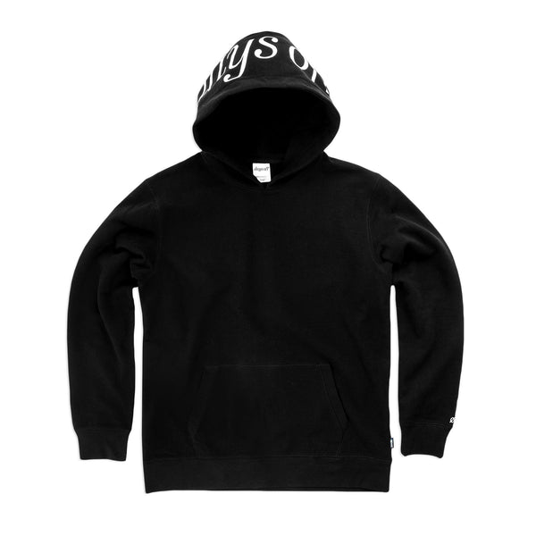 Brooks Pullover Hoodie, Obsidian Black - days off