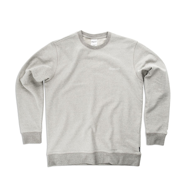Desmond Crewneck, Shore Grey - days off