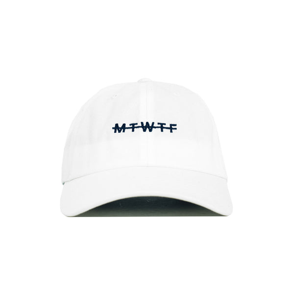 Weekdays Dad Hat, White - days off