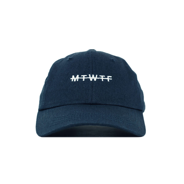 Weekdays Dad Hat, Navy - days off