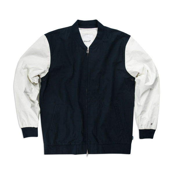 Rosedale Varsity Jacket, Navy - days off