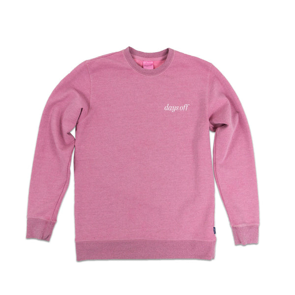 Desmond Crewneck, Dusty Rose - days off