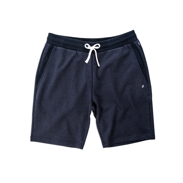 Lincoln Sweatshorts, Essex Blue - days off