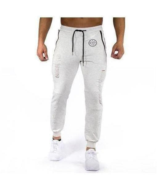 Image of Squad Wear Distressed Joggers Grey