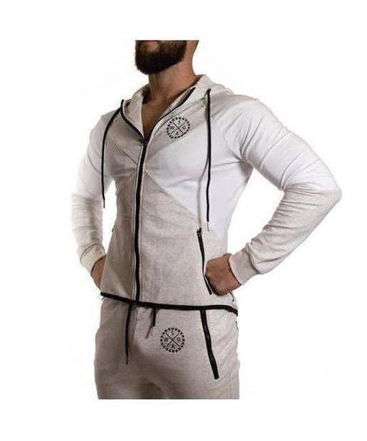 Squad Wear Signature Hoodie Grey-Squad Wear-Gym Wear