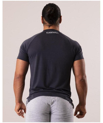 ICIW Training T-shirt Core Grey-ICIW-Gym Wear
